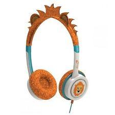 iFrogz Little Rockers Volume Limiting Costume Headphones Orange Lion