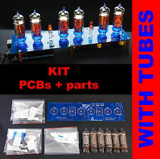 DIY kit Nixie Tubes Clock Arduino Shield NCS314 on IN-14 Nixie Tubes[WITH TUBES]