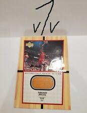 2000 Upper Deck MJ's Final Floor Jumbo #FF5 MICHAEL JORDAN FLOOR PATCH