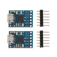 4x CP2102 Chip Micro USB to TTL 6 PIN Serial Converter Module Board UART STC