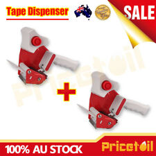 2Pcs Packing Tape Dispenser Gun 48mm Roll Sticky Packaging Dispenser Low Noise