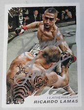Ricardo Lamas Signed UFC 2011 Topps Moment of Truth Rookie Debut Card 13 RC Auto