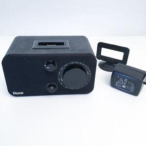 iHome iH10B AM/FM Table Radio and Speaker Dock for iPod (Black)