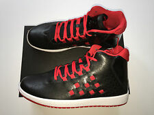 NEW Nike Air Jordan Illusion Shoes Trainers Black Red Size UK 8.5