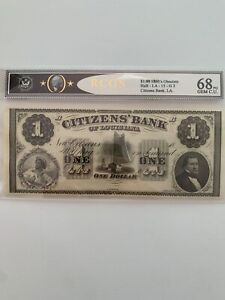 Citizens' Bank of Louisiana $1