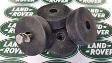 SET of 4 - Land Rover Series Bonnet Spare Wheel Buffers  - 336473 [MRC5627] <*>