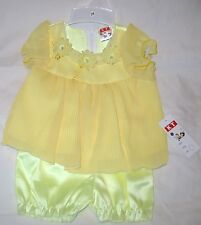 NEW KT Dress and Shorts Set, Outfit Sz 18 Months 2 Piece Free Shipping U.S.A