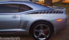 2010 2011 2012 2013 Chevrolet Camaro SS RS quarter panel strobe decal decals