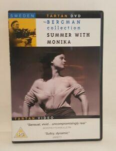 Summer With Monika (1953) DVD, Ingmar Bergman Eng-Sub UK R0 DVD