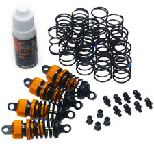 Yeah Racing 55mm alloy shock set for 1:10 RC Cars suit Tamiya HPI Orange Colour