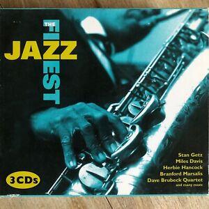 The Finest Jazz 3CD Box (Davis, Getz, Hancock, Marsalis, Brubeck, Franklin...