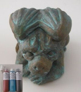 Reactive Bronze Paint, Patina effect Paint for arts, crafts and decoration