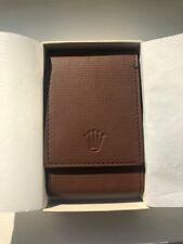New Rolex Genuine Leather Cafe Travel Storage Case