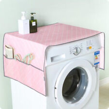 Washer/Dryer Cover Washing Machine Front Cover Waterproof Dustproof Pink