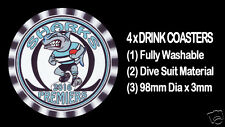 4 x SHARKS 2016 PREMIERS FOOTBALL RUGBY LEAGUE DRINK COASTERS Fully Washable