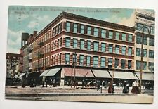 1914 NJ Postcard Newark New Jersey Snyder & Co Department Store Business College