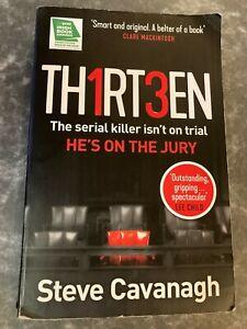 Thirteen by Steve Cavanagh (2018, Paperpback)