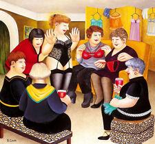 BERYL COOK  ' PARTY GIRLS  '  LTD.EDITION  FREE DEL.