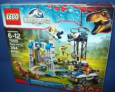 LEGO 75920 Jurassic World RAPTOR ESCAPE 394 pcs retired NEW in Sealed box