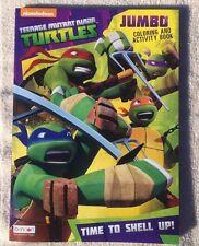 Teenage Mutant Ninja Turtles Jumbo Coloring & Activity Book Time To Shell Up