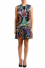 Just Cavalli Multi-Color Sleeveless Women's Shift Dress US S IT 40