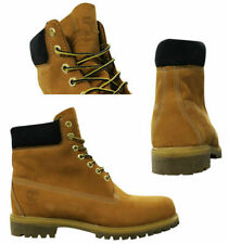 Timberland Heritage 6 Inch Premium Waterproof Nubuck Wheat Mens Boots A1VXW