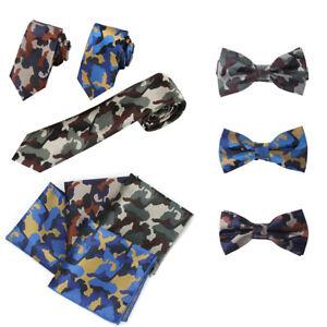 Pheasant Shooting Tie Camo Uniform Bow Tie Gift Hunting Season Country Game