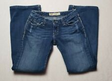 BKE Buckle Women's 26 x 28.5 Sabrina Boot Stretch Distressed Jeans