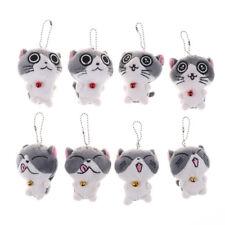 Cat Meow Collection Mini Plush Stuffed Dolls Cute Small Pendant Z