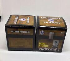 1 Minecraft Mini Figure Chest Series 2 Blind Box - NEW Sealed In Box