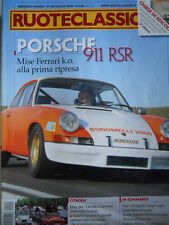 Ruoteclassiche n°235 2008 Fiat 128 Sport Coupè Opel Rekord Porsche 911 RSR [P50]