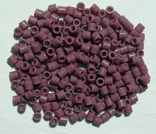 Lilac Tile Beads 250 Czech Glass native jewelry beading
