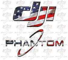 Patriotic DJI Phantom Custom Graphics - Includes 4 Decals