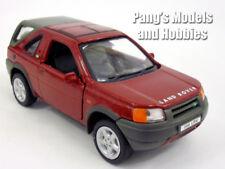 Land Rover Freelander 1/32 Scale Diecast Metal Car Model - RED - BURGUNDY