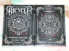 1 deck Bicycle Tomb of Cthulhu Playing Cards S102945