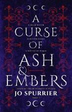 A Curse Of Ash Et Braises (The Blackbone Witches) Par Jo Spurrier,Neuf