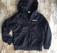 CARBRINI JACKET BOYS Coat Age 10 to 11 Years Light Black Hooded Casual SMART