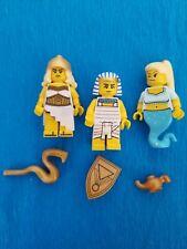 LEGO ~ ADVENTURERS ~ Hieroglyphs ~ Pharaoh ~ Desert ~ Egyptian ~ Lot 3