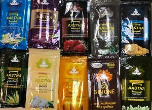 Patanjali Ayurveda Aastha Agarbatti /dhoop/loban150G big pack 14verity new stock