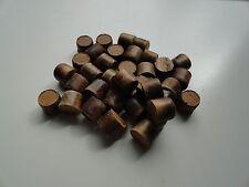 """Teak Hardwood Plugs  5/8""""   Tapered 20 Count"""