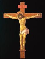 Crucifix Sandro Botticelli Jesus Religious Art Painting Renaissance Canvas Print