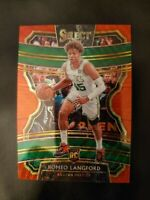 2019-20 Panini Select Tmall Red Wave Prizm #31 Concourse Romeo Langford RC