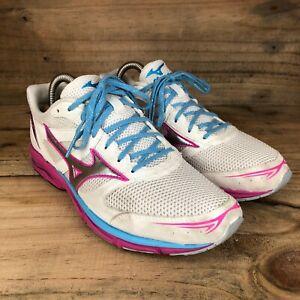 Mizuno Wave Aero 15 Competition Womens White/Pink Running Shoes Size Uk5.5 Us8