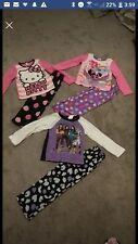 Three Girls Fleece Pajamas Size 6
