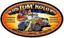 Hot Rod Body Shop Airbrush Pinstripe Metal Sign Man Cave Garage Club MLK021