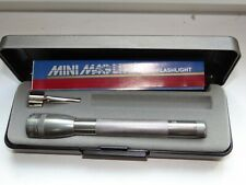 MAGLITE Mini,  Flashlight  Lufthansa + Pocket Clip + case