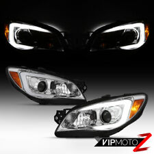 2006-07 Subaru Impreza/WRX [LED Fiber Optic Tube DRL] Projector Head Light Lamp