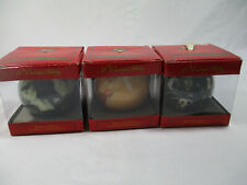 NEW Lot Of 3 A Wonderful Holiday Bedford Falls Christmas Ornaments