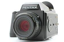 【EXC++】Pentax 645 Film camera + SMC A 75mm f/2.8 Lens 120 film From JAPAN #63