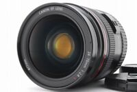 【B V.Good】 Canon EF 24-70mm f/2.8 L USM AF Zoom Lens w/ Caps From JAPAN R3430